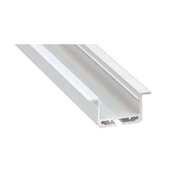 LED Alumínium Profil INSILEDA Fehér 3 méter