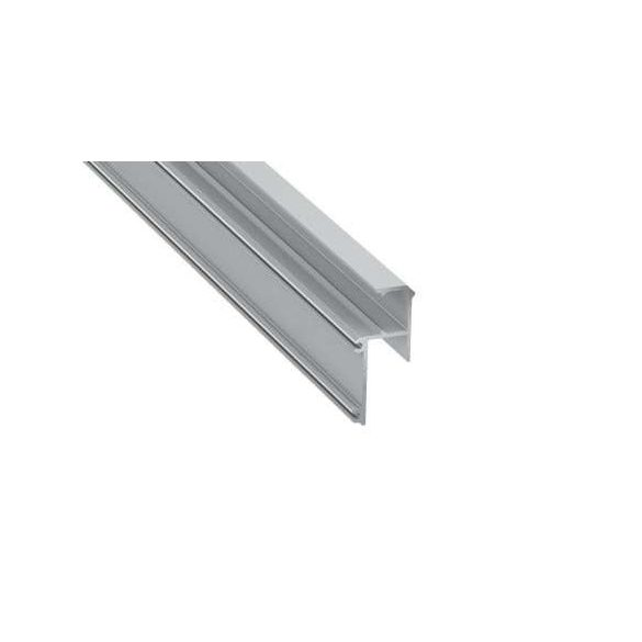 Led Alumínium Profil IPA12 1 méter Ezüst