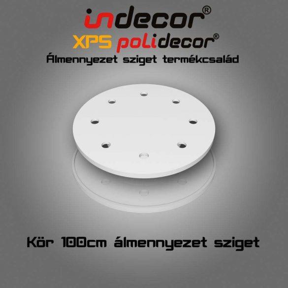 Indecor® K-100-Z Kör álmennyezet sziget