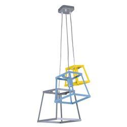 KAJA TEDY E-3 színes függesztett lámpa