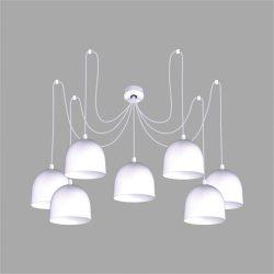 KAJA NEST WHITE B-7 fehér színű függesztett lámpa