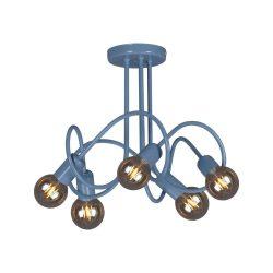 KAJA MALVA A-5 kék színű mennyezeti lámpa