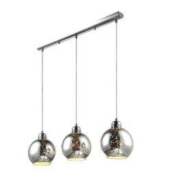 KAJA GALAXY I A-3 króm színű függesztett lámpa