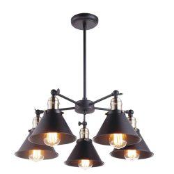 KAJA MORENO 5 fekete függesztett lámpa