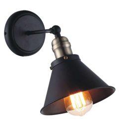 KAJA MORENO WALL fekete fali lámpa