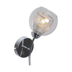 KAJA FONS króm színű fali lámpa