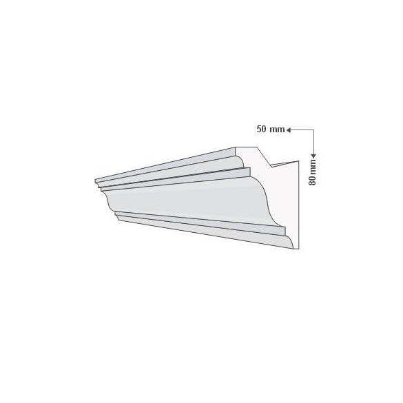 KA-40/RV - Rejtett világítás - oldalfal 1,25m/db