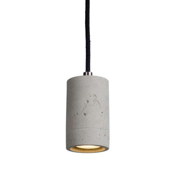 KALLA 11 Beton Lámpa Fekete