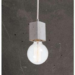 KALLA QUADRO Beton Lámpa Antracit