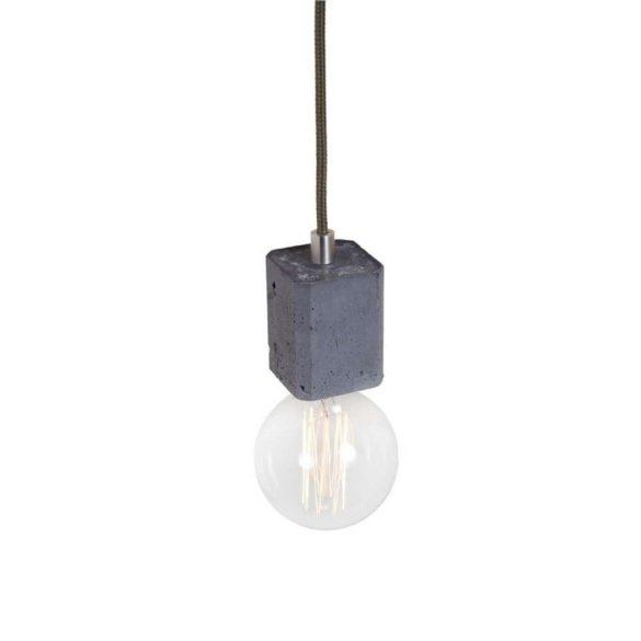 KALLA QUADRO Beton Lámpa Rozsda-szürke