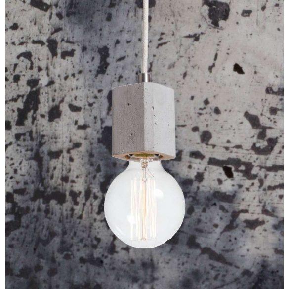KALLA QUADRO Beton Lámpa Só-Bors