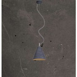 KOBE 1 Beton Lámpa Antracit