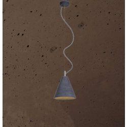 KOBE 1 Beton Lámpa Csokoládé