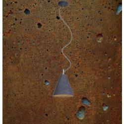 KOBE 1 Beton Lámpa Rozsdás-szürke