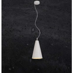 KOBE 2 Beton Lámpa Fekete