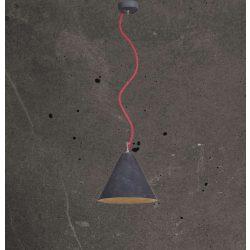 KOBE 3 Beton Lámpa Antracit