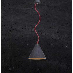 KOBE 3 Beton Lámpa Fekete