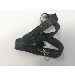 Ledlámpaház ajándék kulcstartó fekete