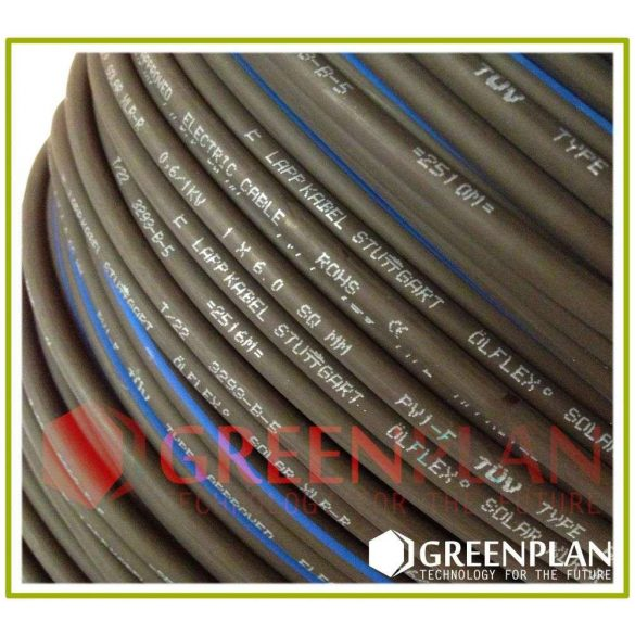 Solar Kábel Piros 6mm2