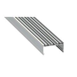Led Alumínium Profil LARGO 1 méter Ezüst