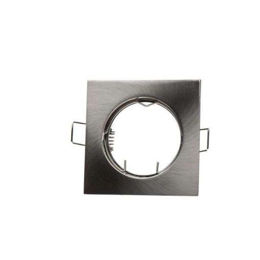 Spot lámpatest szögletes Inox