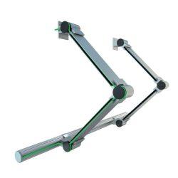 LUMINES 2 karos csuklós szett Led alumínium profilokhoz