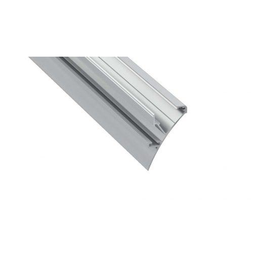 Led Alumínium Profil LOGI 1 méter Ezüst