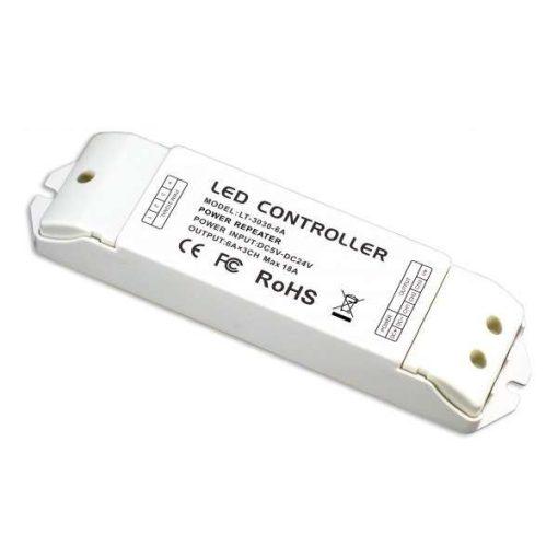 LTECH Jelerősítő led szalagokhoz 3 csatorna 18A 90W/216W/432W