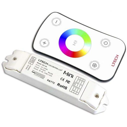 LTECH RGB led szalag vezérlő Érintős 108W/216W