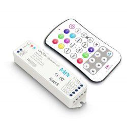 LTECH RGBW Mini led szalag vezérlő Nyomógombos 12A 144W / 288W