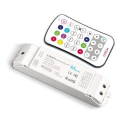 LTECH RGBW led szalag vezérlő Nyomógombos 20A 240W/480W