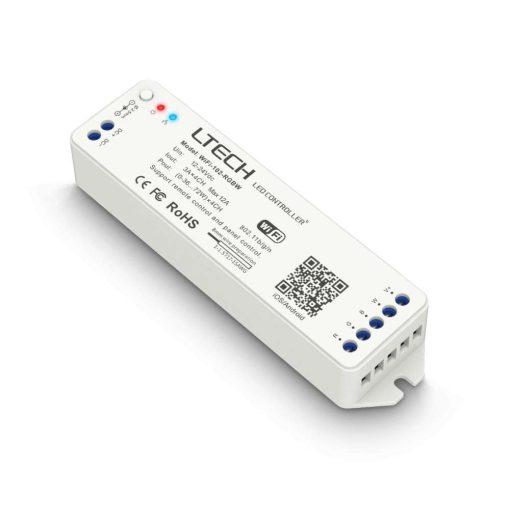 Wifi-s RGBW vezérlő 12/24V távvezérlő támogatással