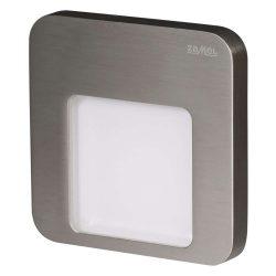 ZAMEL LEDES Kültéri Lépcső lámpa MOZA 14V Inox keret Hideg fehér