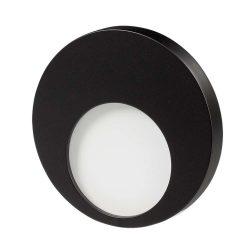ZAMEL LEDES Kültéri Lépcső lámpa MUNA 14V Fekete keret Hideg fehér