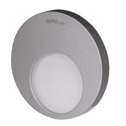 ZAMEL LEDES  Lépcső lámpa Beépíthető MUNA 14V Alumínium keret Hideg fehér