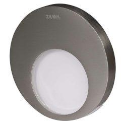 ZAMEL LEDES  Lépcső lámpa Beépíthető MUNA 14V Inox keret Hideg fehér
