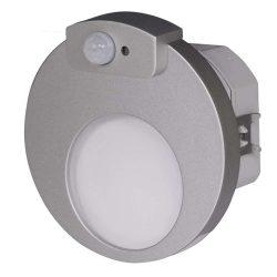 ZAMEL LEDES  Lépcső lámpa Beépíthető MUNA 230V Alumínium keret Hideg fehér Beépített érzékelővel