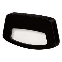 ZAMEL LEDES  Lépcső lámpa TERA 14V Fekete keret Hideg fehér