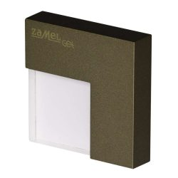 ZAMEL LEDES  Lépcső lámpa TICO 14V Bronz keret nélküli Hideg fehér