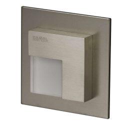 ZAMEL LEDES  Lépcső lámpa TICO 14V Inox keret Hideg fehér
