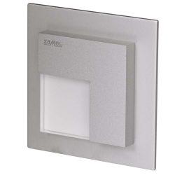 ZAMEL LEDES  Lépcső lámpa TIMO 14V Alumínium keret Hideg fehér