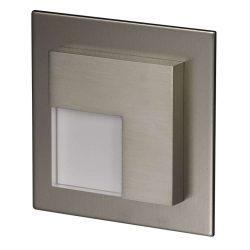 ZAMEL LEDES  Lépcső lámpa Beépíthető TIMO 14V Inox keret Hideg fehér