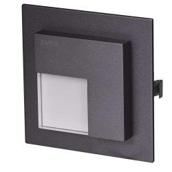 ZAMEL LEDES  Lépcső lámpa Beépíthető TIMO 14V Grafit keret Hideg fehér