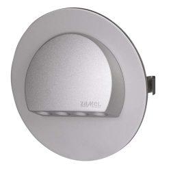 ZAMEL LEDES  Lépcső lámpa Beépíthető RUBI 14V Alumínium keret Hideg fehér