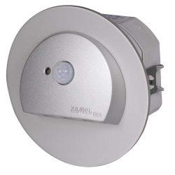 ZAMEL LEDES  Lépcső lámpa Beépíthető RUBI 14V Alumínium keret Hideg fehér Beépített érzékelővel