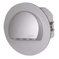 ZAMEL LEDES  Lépcső lámpa Beépíthető RUBI 230V Alumínium keret Hideg fehér