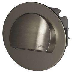 ZAMEL LEDES  Lépcső lámpa Beépíthető RUBI 230V Inox keret Hideg fehér