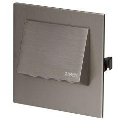 ZAMEL LEDES  Lépcső lámpa Beépíthető NAVI 14V Inox keret Hideg fehér