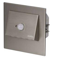 ZAMEL LEDES  Lépcső lámpa Beépíthető NAVI 14V Inox keret Hideg fehér Beépített érzékelővel
