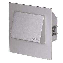 ZAMEL LEDES  Lépcső lámpa Beépíthető NAVI 230V Alumínium keret Hideg fehér